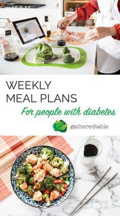 Receive a new meal plan every week designed specifically for people with diabetes, featuring 3 meals/day plus snacks. Start your free trial today!