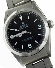 Personal Rolex Explorer owned by Ian Fleming