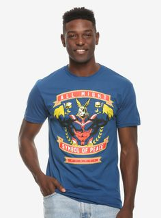 df1abfc6 My Hero Academia All Might Symbol of Peace T-Shirt - BoxLunch Exclusive