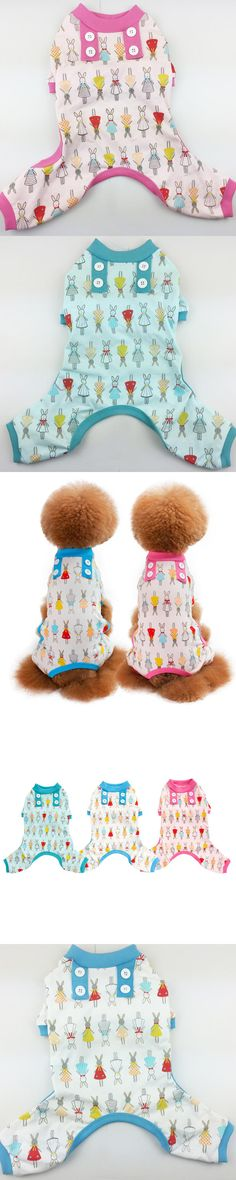 New Dog Clothes Cotton Clothes For Dogs Goods for Dog Jumpsuits Rompers Pajamas Pet Clothes Home Clothes Roupa para cachorro 30