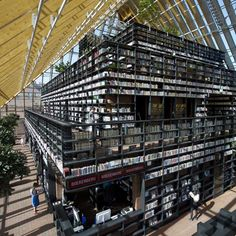 Another reason why I NEED to go to the Netherlands ;) Architecture Archives - Library in  Spijkenisse, Netherlands