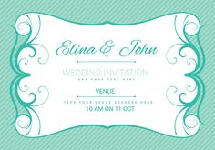 Free bridal shower vector invitation wedding inspiration wedding card invitation vector stopboris Image collections