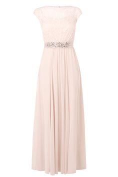 Buy Coast Lori Lee Lace Maxi Dress, Pale Blush from our Women's Dresses range at John Lewis & Partners. Maxi Gowns, Evening Dresses, Prom Dresses, Summer Dresses, Cream Bridesmaid Dresses, Bridesmaids, 1920s Fashion Women, Coast Dress, Dresses Australia