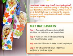 May day baskets and peanut butter popcorn ball. Quick Crafts, Crafts To Do, Crafts For Kids, Paper Plate Crafts, Paper Plates, Kids Fun, Diy For Kids, Holiday Fun, Holiday Ideas