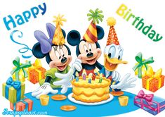Disney Edible Photo Cake Topper 1 x PRINT with Mickey Mouse, Minnie Mouse and Donald Duck! Mickey Minnie Mouse, Happy Birthday Mickey Mouse, Mickey Mouse E Amigos, Mickey Mouse Parties, Mickey Mouse And Friends, Wallpaper Do Mickey Mouse, Disney Wallpaper, Cartoon Wallpaper, Belated Birthday Wishes