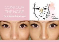contouring the nose