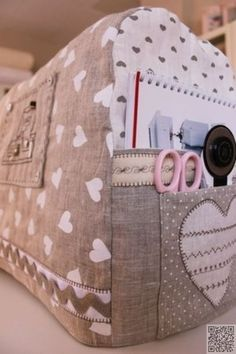2. #Sewing Machine #Cover with Pockets - 19 Fun and #Fancy Sewing Machine…
