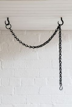The Society inc by Sibella Court |    Styling With Hardware: Ceiling Hooks & Chain