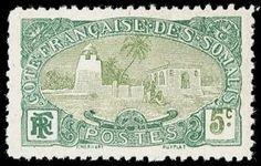 French_Somali_Coast_1909_5c_Tadjoura_Mosque.