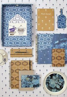 print & pattern: PAPERCHASE - indigo dreams