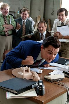 Leonardo DiCaprio - The Wolf of Wall Street