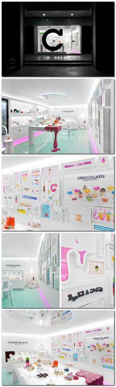 Ciocolato cupcake store (Mexico) by Savy