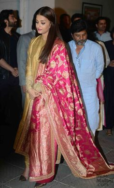 Aishwarya Rai Bachchan Is The Epitome Of Class In This Sabyasachi Outfit! - MissMalini