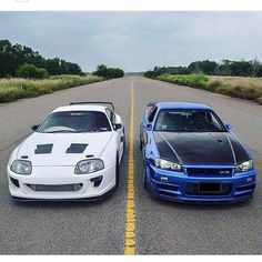 いいね♪ 80supra & R34 skyline  #followback #geton #photo #auto #car #supercar #NISSAN #R34 #GTR #TOYOTA #80supra  目で見て楽しむ!感性が上がる大人の車・バイクまとめ -geton http://geton.goo.to