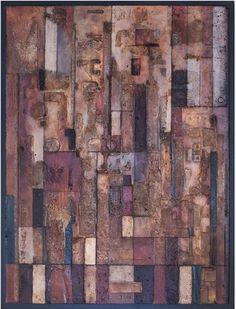 Tanya Bonello, Epyllion, 1000x1000mm, gypsum and oil on board, 2013