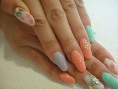 Sweet spring #nails