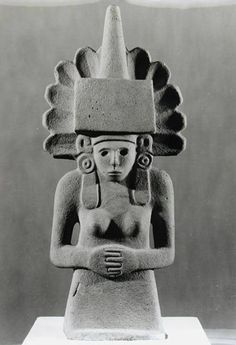 Centeocihuatl, Huastecan Goddess of Maize, - Pre-Columbian