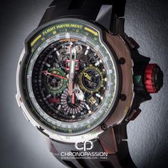 Richard Mille RM 39-01 Automatic Aviation E6-B Flyback Chronograph.