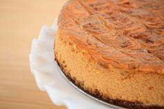 Biscoff Crust Pumpkin Cheesecake Recipe Peanut Butter Sheet Cake, Biscoff Cookie Butter, Pumpkin Cheesecake Recipes, Pumpkin Recipes, Spiced Pumpkin, Cheesecake Desserts, Tasty Kitchen, Cookie Crust, Fancy Cakes