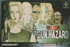Front Mission Gun Hazard Video Game Cover Boxart