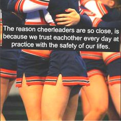 i dont think anyone understands how much a cheer team is like a family.