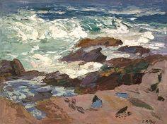 Wild Surf, Ogunquit, Maine - Edward Henry Potthast