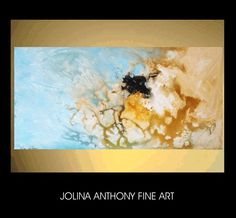 48original jolinas turquoise brown abstract by jolinaanthony, $319.00