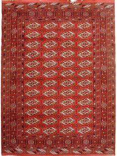 Red/Rust Bokhara Carpet  http://www.alrug.com/3530