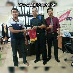 Dapat kunjungan dari adik-adik SMK Jalan Tasek Ipoh Perak....