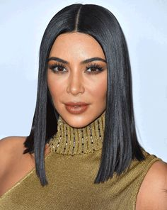 Image result for kim kardashian cleopatra hair