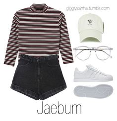 Disneyland // Jaebum by suga-infires on Polyvore featuring moda, Monki, Disney, Wildfox and adidas