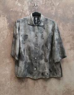Outi LesPyy   Wet Dyed Vintage Jacket • Remake - eco design atelier • Tictail