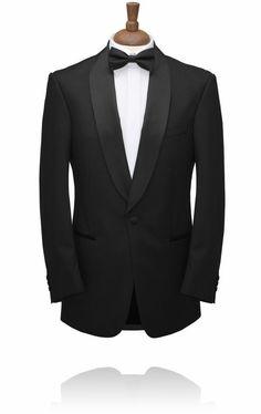 hochzeitsanzug herren schwarz fliege elegant