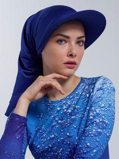 Water Drop Patterned Swimsuit - www.mayovera.com - Burkini, Swimwear, Muslimswimwear, İslamicswimwear, designhijabfriendlyswimwear,hijabstyle