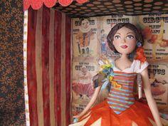 Art Doll - Victoria the Fantastic Wire Walker