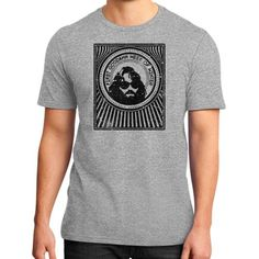R J MacReady The Thing District T-Shirt (on man)