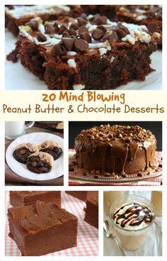 20 Mind-Blowing Peanut Butter & Chocolate Desserts Parade Magazine Online