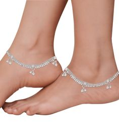 fashion anklets or payal for both women and girls, wide collections, latest designs from Goldencollections