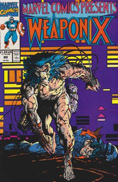 Marvel Comics Presents # 80 by Barry Windsor-Smith