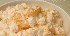 Orange Jello Salad Everybody loves a jello salad! It makes a great side dish to any meal. Also try the strawberry and pistachi...