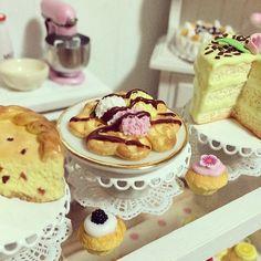 Ice cream Waffle  in  miniature от SweetMiniaturesShop на Etsy