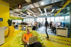 Google's Office In Dublin