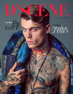 Stephen James para DScene Magazine 'The Fall Issue'