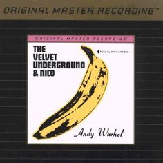 1997 The Velvet Underground & Nico [Mobile Fidelity Sound Lab (MFSL,inc.) UDCD -695] #albumcover