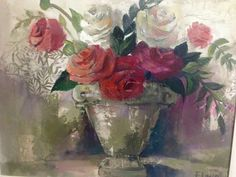 South African Artists, Pablo Picasso, Still Life, Galleries, Photo Art, Art Gallery, Roses, Passion, Paintings