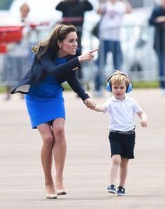 Samir Hussein (@samhussein) on Twitter:  Royal International Air Tattoo, July 8, 2016-Duchess of Cambridge and Prince George