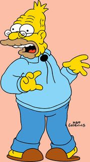 """Abraham """"Abe"""" Jay-Jedediah Simpson II, father-in-law of Marge Simpson, the father of Homer.Herbert and Abbie Simpson, and the grandfather of Bart, Lisa and Maggie Simpson. Homer Simpson, Lisa Simpson, Simpson Tv, The Simpsons Show, Simpsons Cartoon, Simpsons Characters, Simpsons Quotes, Simpsons Drawings, Cartoon Drawings"""