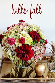 Fall Flower Arrangements   Late Afternoon: Flower Friday