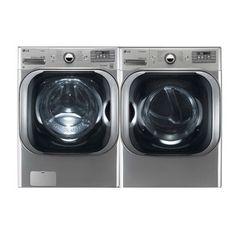 Holy Huge washer and dryer LG WM8000HVA, DLGX8001V : Warners' Stellian