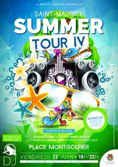 Summer tour 2016 http://www.ville-saint-maurice.com/viewPageEvent.html?page=summer_tour_2016